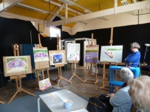Pimlico Artists in Wapping 18th June 2012