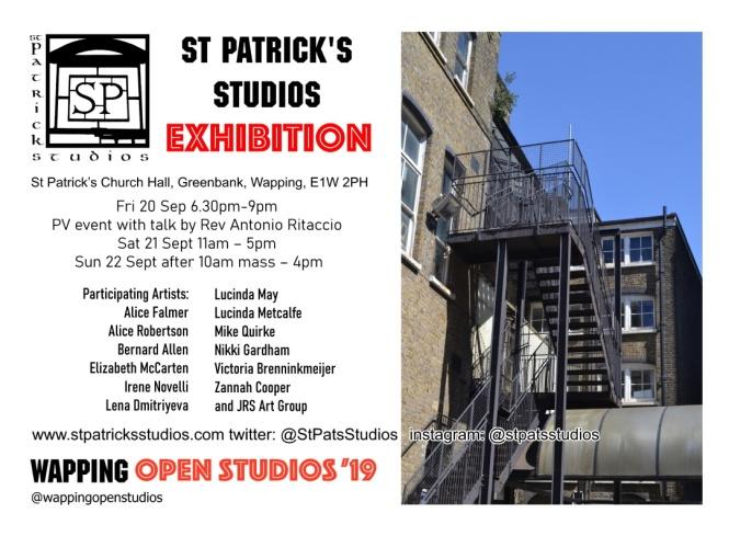 open studios flyer 2019 updated online